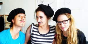 Nice moustache!