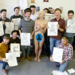 Stag Party Life Drawing - Hen & Stag Life Drawing Co. style!