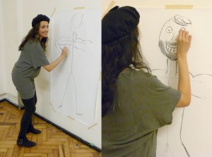 Life sized life drawing!
