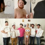 Stag party life drawing!