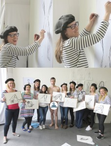 Hen Party Life Drawing Event in London