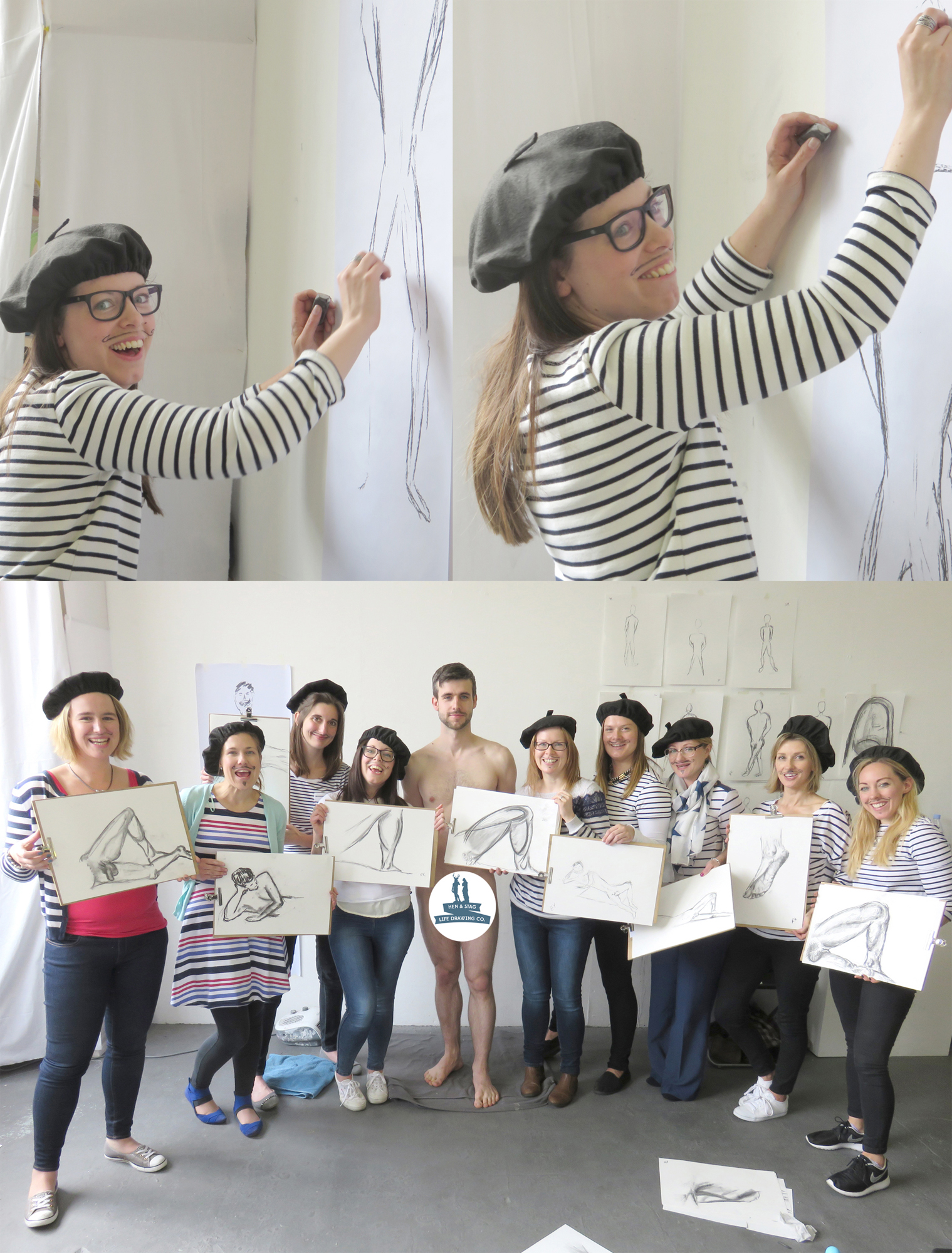 Harry Potter Life Drawing Hen Party | Hen U0026 Stag Life Drawing Co.