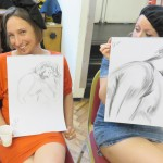 Laugh and learn the Hen & Stag Life Drawing Co. way!
