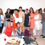 Hen party drawing at a private apartment..