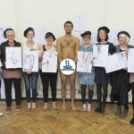 Final drawings at our hen party.