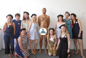 Happy hen party life drawing!