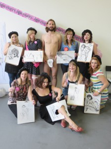 Hen Do Life Drawing UK