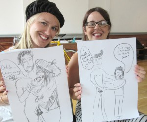 Life Drawing hen party in London