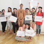 The original hen do life drawing event!