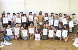 Hen Party Life Drawing London