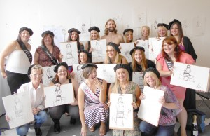 Hen and Stag Life Drawing